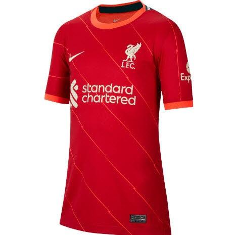 Nike Liverpool FC 2021/22 Stadium Home Herren/ Unisex rot
